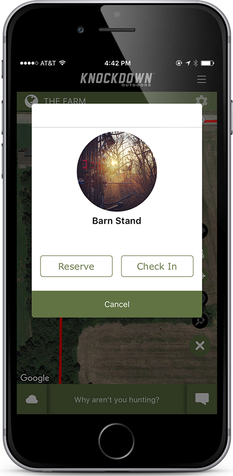 Knockdown Outdoors™ App Hunting Camp Features