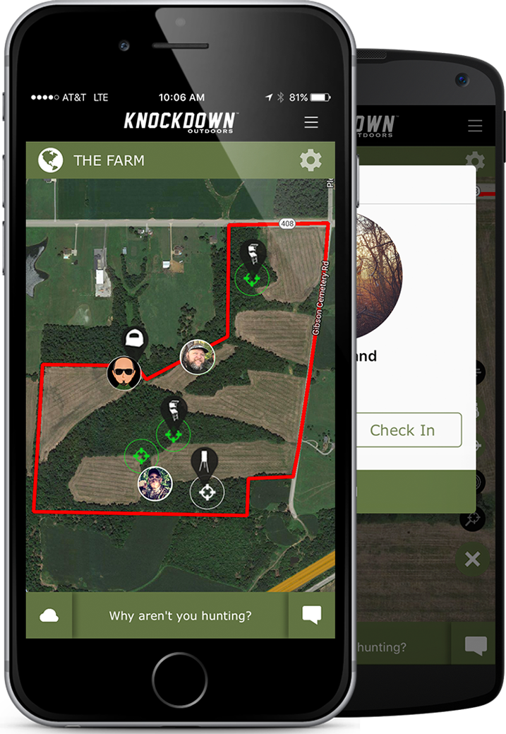 Knockdown Outdoors™ Hunting App for Hunt Camps