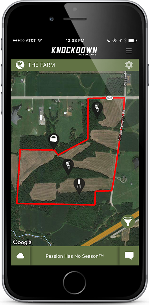 Knockdown Outdoors™ App Manage All Your Hunting Gear