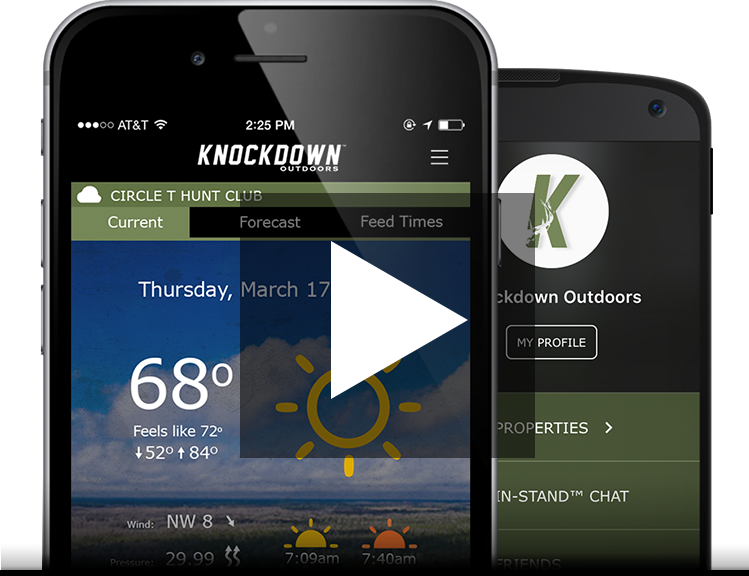 Knockdown Outdoors™ Hunting App Video